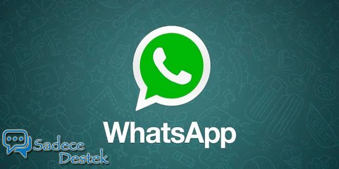 sadecedestek WhatsApp